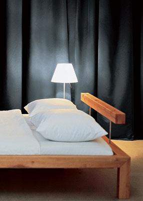 Оформление изголовья кровати