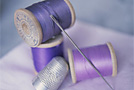 Вышивание: Контурные и украшающие швы