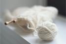 Вязание образца для определения плотности вязания