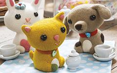 Валяние игрушек: Мастер-класс для начинающих