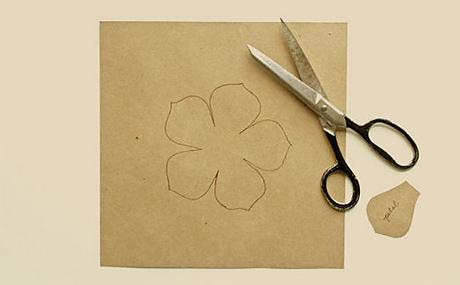Цветок из шифона своими руками фото фото 934