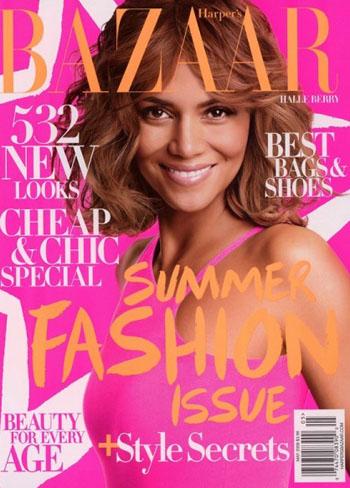 Холли Берри для Harper's Bazaar: «Я простая и естественная»