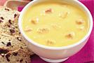 Тыквенный суп-пюре с ветчиной