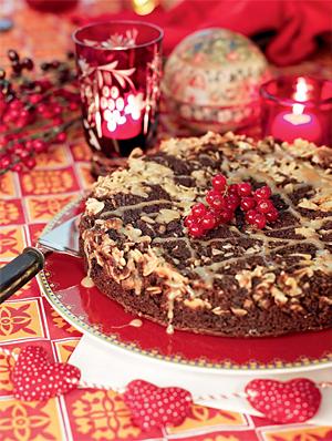 Торт «вверх дном»