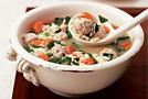 Куриный суп с мини-фрикадельками