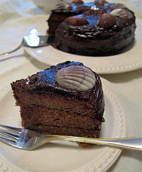 Торт шифоновый «Захер»