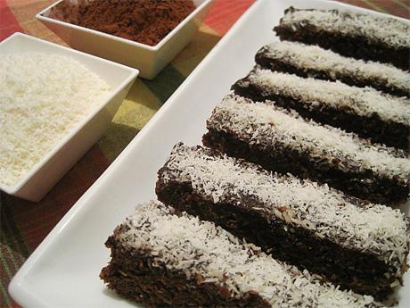 Пирожные «Кокосовые пальчики»