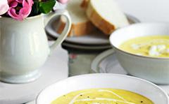 Крем-суп из цветной капусты с фетой