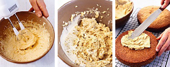 Кофейно-ореховый пирог