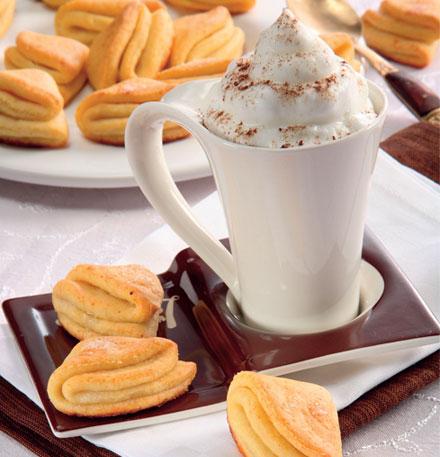 Творожное печенье с ванильным сахаром