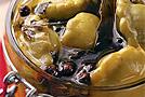 Соленые мини-патиссоны, баклажаны и кабачки