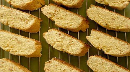 Ореховые сухарики
