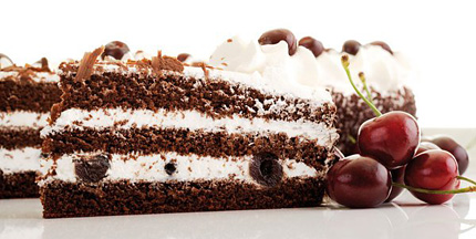 Торт Черный Лес (Шварцвальдский вишневый торт )
