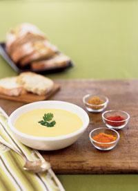 Суп из имбиря и цветной капусты