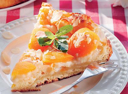 Пирог с курагой «Янтарь»