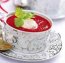 Суп «Кровавая Мэри»