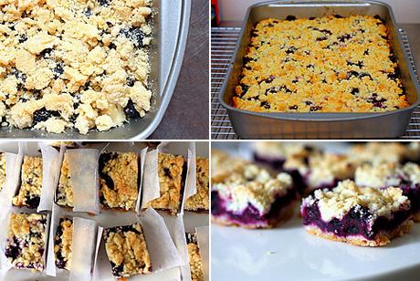 Черничные пирожные