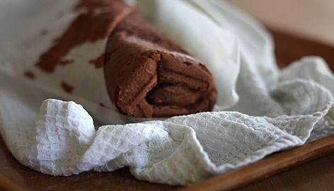 Шоколадно-каштановый торт