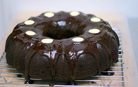 Шоколадный пивной торт