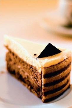 Торт «Кофе с молоком»