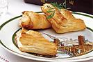 Слоеные конвертики с рыбой и сыром