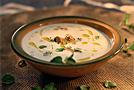 Суп из фасоли с мидиями