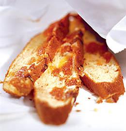 Яичный пирог с курагой