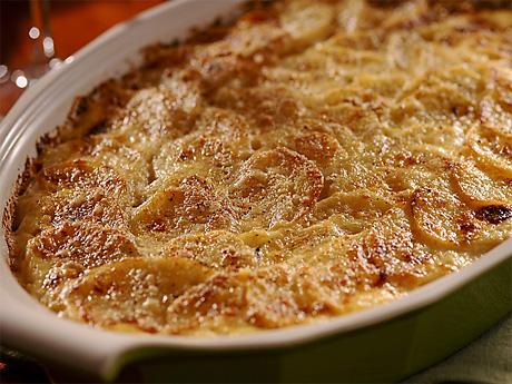 Запеченный картофель (Гратен)