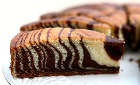 Торт Зебра (Кекс)