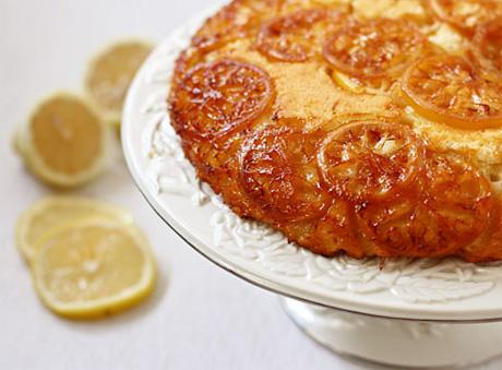 Лимонный пирог-перевертыш