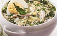 Щавелевый суп в мультиварке Philips HD3158
