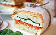 Панини: итальянский закрытый бутерброд