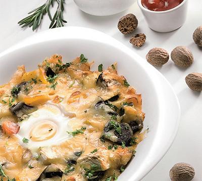 Запеканка овощная (французская кухня)