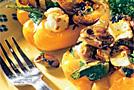 Перец, фаршированный грибами