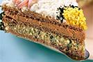 Торт бутербродный, полезный завтрак