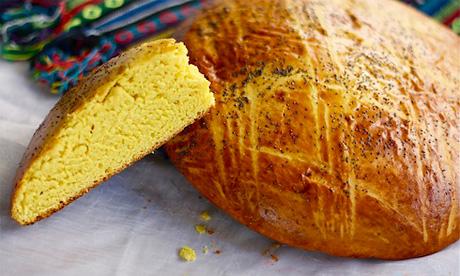 Сладкий хлеб на молоке
