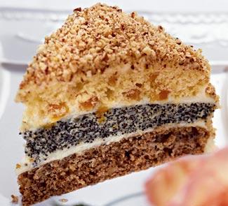 Трёхслойный торт