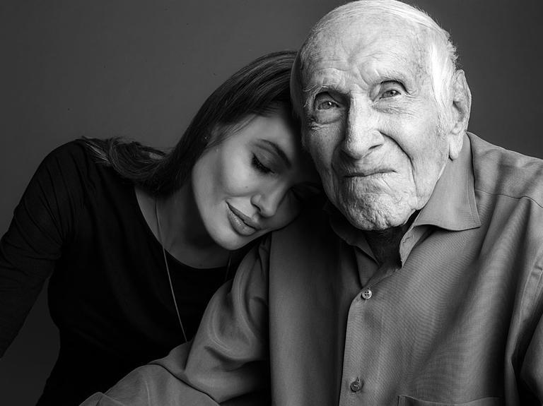 Анджелина Джоли и Луи Замперини, 2013
