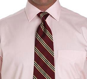 Завязываем галстук: Крестовый узел