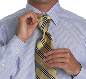 Завязываем галстук: Малый узел (Small Knot)