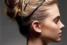 Вечерняя укладка: собираем волосы в шикарный пучок