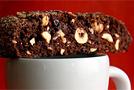 Шоколадно-ореховое сухарное печенье