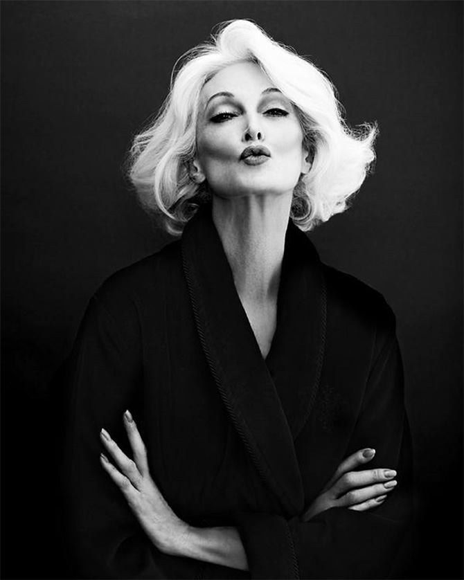 Возрастная модель: ей 83 и она сексуальна как всегда