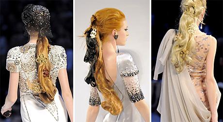 Волосы: тенденции Осень-Зима 2009/2010