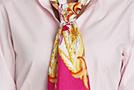 Завязываем шейный платок: Скользящий узел